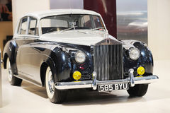 1955 la versión de plata de la nube de Rolls Royce Fotografía de archivo libre de regalías