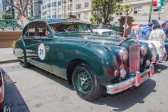 1956年捷豹汽车Mk VII M 免版税库存图片