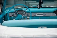 1956年汽车经典敞篷车 图库摄影