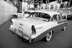 1956年薛佛列汽车 库存图片