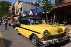 1956 Chevroleta Bela Powietrze Obraz Stock