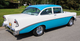 1956 Chevy Bel Air Stock Photo