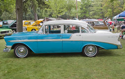 1956年Chevy Bel Air 库存照片