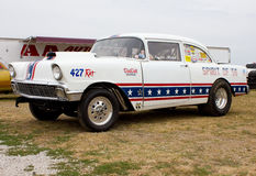 1956 Chevy Drag Car Royalty Free Stock Photos