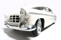 1956 Chrysler 300B metal scale toy car fisheye Royalty Free Stock Photos
