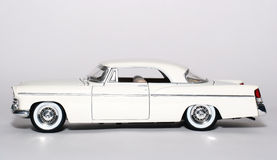 1956 Chrysler 300B metal scale toy car sideview Stock Images