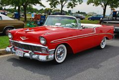 1956 convertible Chevrolet Bel Air Photo libre de droits