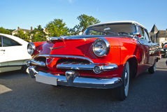 1956 Dodge Royal Lancer-Two-tone Red & Black Royalty Free Stock Photos