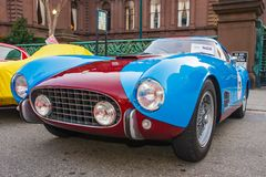1956 Ferrari 250 GT Berlinetta Stock Afbeelding