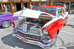 1956 Ford Fairlane Custom Sedan stock image