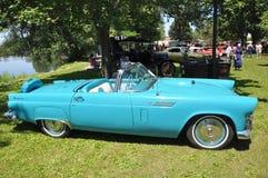 1956年Ford Thunderbird 免版税库存图片