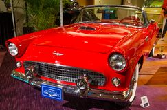 1956 Ford Thunderbird Royalty-vrije Stock Afbeelding