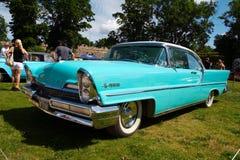 1957位第2小轿车ht林肯首放 免版税库存照片