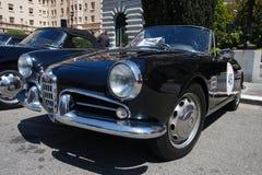 1957年阿尔法giulietta罗密欧蜘蛛veloce 免版税库存图片