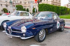 1957 Alfa Romeo Giulia Sprint Speciale Royalty Free Stock Photos