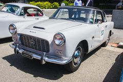 1957年appia lancia pininfarina 免版税图库摄影