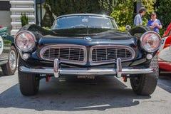 1957 BMW 507跑车 免版税库存照片