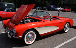 1957 Chevy Corvette Stock Image