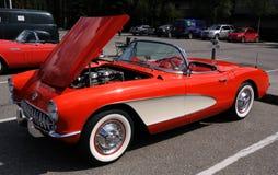 1957 chevy corvette Fotografering för Bildbyråer