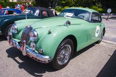1957 Jaguar XK150 fhc Stock Photography
