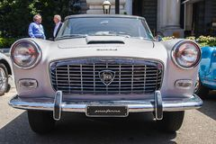 1957 Lancia Appia Pininfarina Στοκ φωτογραφίες με δικαίωμα ελεύθερης χρήσης