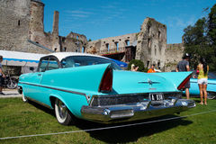1957 Lincoln Premiere Coupe 2D HT Stock Photography