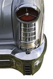 1957 Oldsmobile Tail Light. 1957 Vintage Oldmobile Tail Light - Isolated on white - clipping path is included with file for easy extraction royalty free stock photo