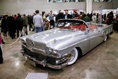 1958年buick小轿车有限里维埃拉 免版税图库摄影