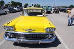 1958航空贝耳Chevrolet Impala 免版税库存图片