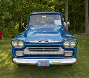 1958 Chevy Apache front view Royalty Free Stock Image