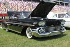 1958 samochodowych chevroleta klasyka impala Obraz Royalty Free