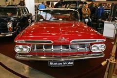 1959年薛佛列汽车小轿车飞羚 库存照片