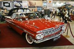 1959年薛佛列汽车小轿车飞羚 免版税图库摄影