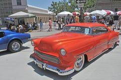 1959年薛佛列汽车Bel Air小轿车 免版税图库摄影