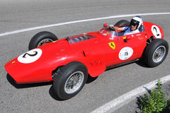 1959 2011年dino f1 ferrari标志银vernasca 库存图片