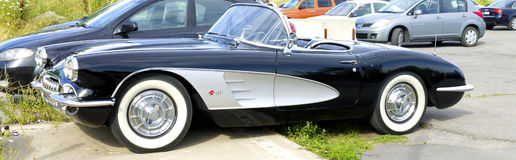 1959 Corvette stock image