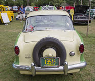 1959 Nash Metropolitan Checker Taxi Cab Rear Royalty Free Stock Image