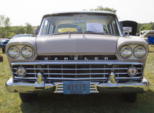 1959 Pink Rambler Grill View Stock Photography