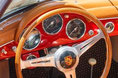 1959 Porsche Convertible Royalty Free Stock Photo