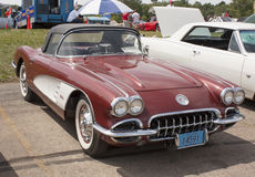 1960 Chevy Corvette Convertible Royalty Free Stock Photography