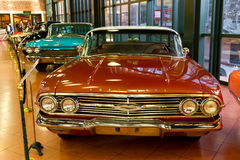 1960 de Sedan van Pillarless van de Impala Chevrolet Royalty-vrije Stock Foto's