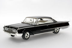 1960 Ford Starliner metal scale toy car. Picture of a 1960 Ford Starliner. Detailed scale model from my brothers toy collection Royalty Free Stock Images