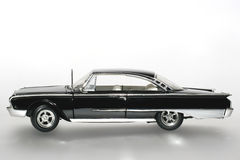 1960 Ford Starliner metal scale toy car sideview Royalty Free Stock Image