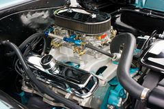 1960 S Pontiac GTO Engine Royalty Free Stock Photography