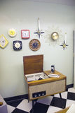 1960s interior  Royalty Free Stock Photos