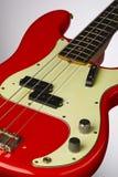 1961低音节日精确度红色 免版税库存图片