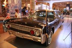 1961年汽车肯尼迪・林肯 免版税库存照片