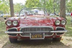1961年Chevy轻武装快舰 免版税图库摄影