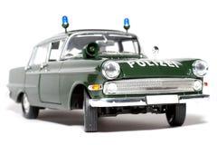 1961 German Opel Kapitän Police scale car #2 stock photo