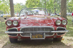 1961 Korvet Chevy Royalty-vrije Stock Fotografie